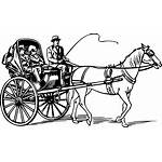 Carriage Calash Barouche Kalesa Drawing Horse Chaise