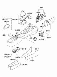 2007 Hyundai Accent Cover Assembly