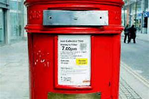 Letter Ban At  U0026 39 Ira U0026 39  Postbox