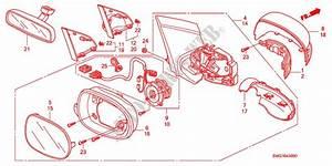 Mirror For Honda Cars Civic 1 8 Ex 5 Doors 6 Speed Manual