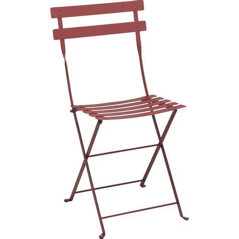 chaise salon de jardin chaise de jardin en acier bistro piment leroy merlin