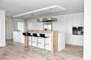 küche holz weiß moderne küche kochinsel weiß matt holz theke kappa armony wohn wohnen