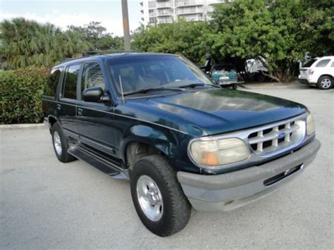 1995 Ford Explorer Xlt by Purchase Used 1995 Ford Explorer Xlt Sport Utility 4 Door