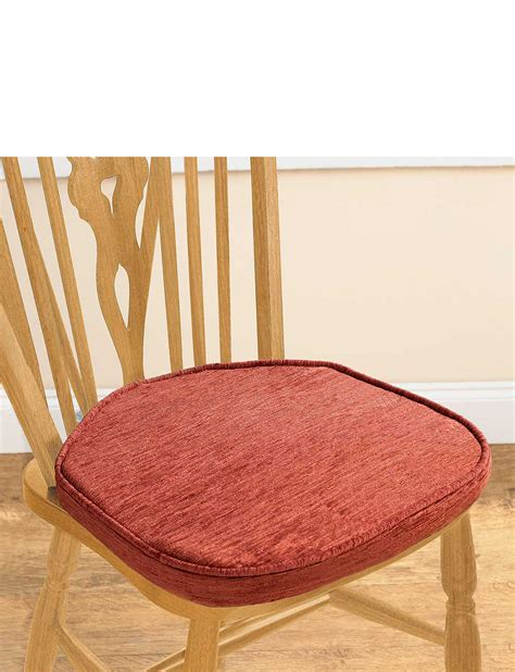 Chenille Dining Seat Pads  Home Kitchen & Dining