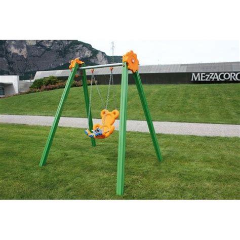 siege haut bébé portique balançoire bébé pour les espaces publics