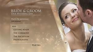 digital video team gold wedding dvd menu With adobe encore dvd menu templates free download