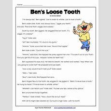 Comprehension Worksheets For 3rd Grade  3rd Grade Worksheets  Comprehension  Books Worth