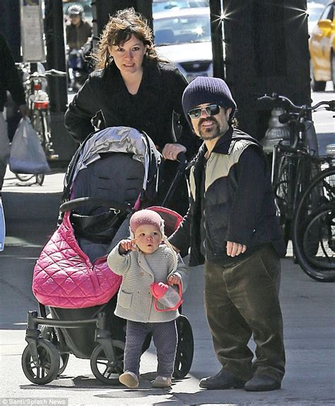 Game Of Thrones Star Peter Dinklage Holds His Little