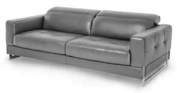 grey sofa aico novelo grey leather sofa mb nvelo15 dgr 13