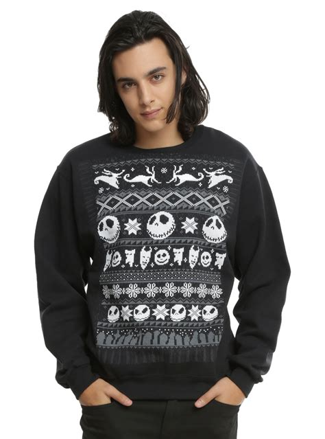 nightmare before sweater sweaters for geeks gamers