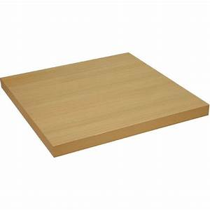 Durolight Square Table Top Ferrara Oak 600mm - DL026 ...
