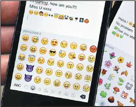 emoji characters   screens   mobile phones
