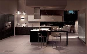 Metropolis Modern Kitchen Interior Decor - StyleHomes net