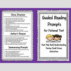 Guided Reading Prompts And Questions To Improve Comprehension Scholastic