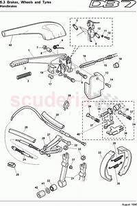 Aston Martin Db7  1995  Handbrake Parts