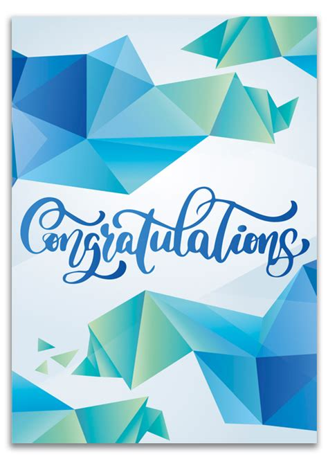 Congratulate a friend or loved one with a beautiful card. Custom Congratulation Cards Printing   EzeePrinting