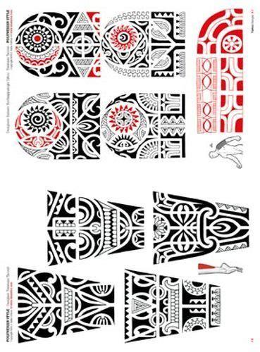 Polynesian and Maori Tattoo Flash Buch  tu teng