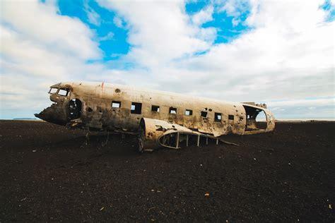 icelands famous solheimasandur plane crash   black