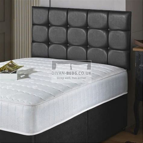 westbury quilted divan bed  quilted memory foam coil