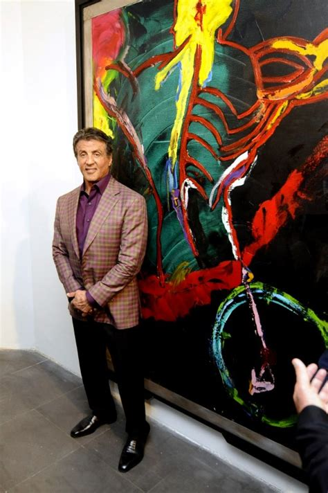 sylvester stallone visits cannes   opening