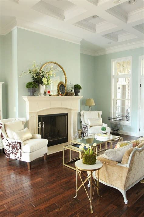 easy spring decorating wall color sherwin williams
