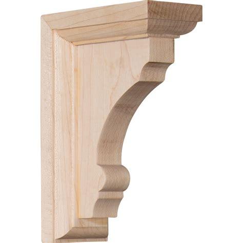 Wood Corbels And Brackets by Ekena Millwork Bktwtm Thompson Wood Bracket Corbels And
