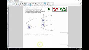 Probability Tree Diagrams - Conditional Gcse Maths