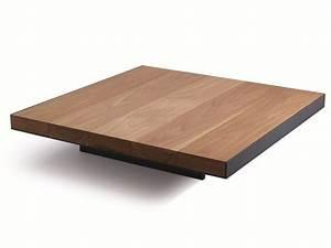 Grande Table Basse Carrée : table basse carree en bois grande table basse bois maisonjoffrois ~ Teatrodelosmanantiales.com Idées de Décoration