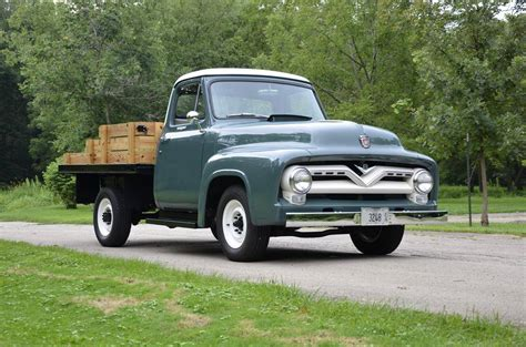 hemmings find of the day 1955 ford f250 flatbed hemmings daily