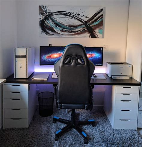 small gaming desk best 25 gaming desk ideas on