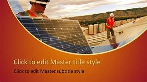 Free Solar Panels Powerpoint Template