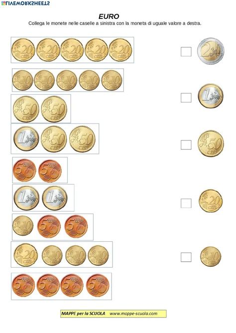 Trova banconote euro facsimile in vendita tra una vasta selezione di italia su ebay. Moneta: Euro - Interactive worksheet | Money math ...