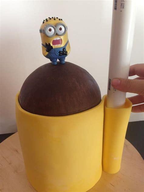 Minion Template For Cake Minion Cake Tutorial With Templates Cake Tutorials