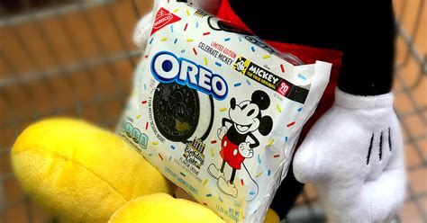 limited edition mickey mouse oreo cookies