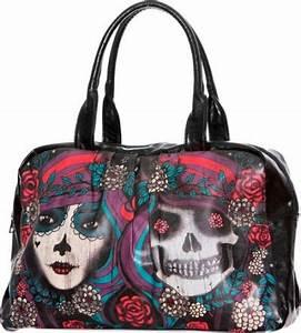 Tete De Mort Mexicaine Femme : sac main jawbreaker twins mexican skulls sacs rock ~ Melissatoandfro.com Idées de Décoration