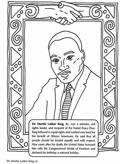 Coloring History Month Pages Sheet Luther Martin