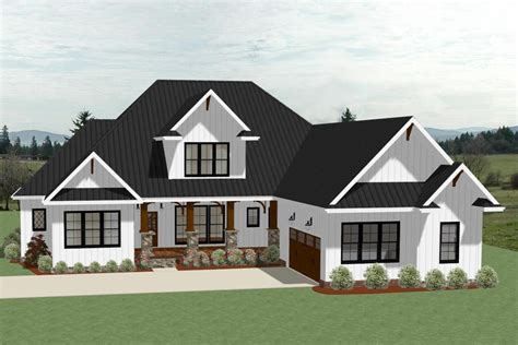 farmhouse house plan 4 bedrms 3 5 baths 3390 sq ft 189 1104