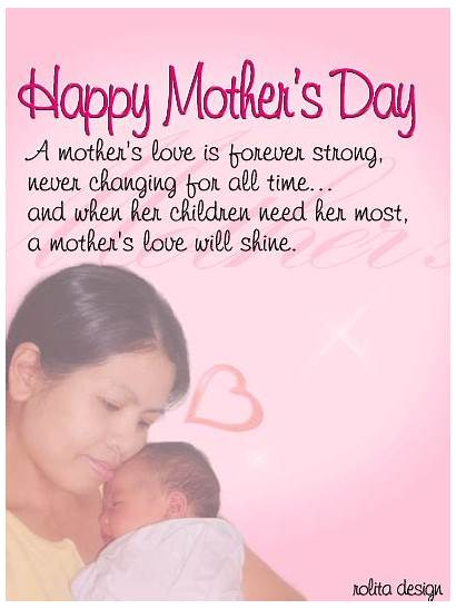 Mother Poems Mothers Quotes Children Strong Messages