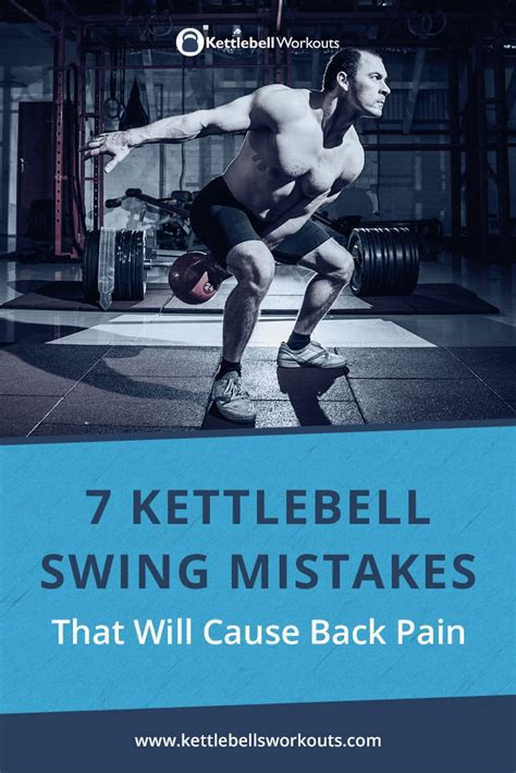 kettlebell pain swing mistakes cause swings pulled doing experience then