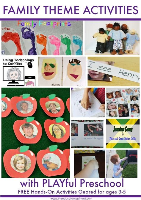 family theme preschool activities tips and tricks for 826 | a7ee8d14254873b5d11bc12eb9538c74