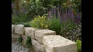 Naturstein Terrasse Kosten : trockenmauer und terrasse arbeiten mit naturstein natursteinwolf youtube ~ Orissabook.com Haus und Dekorationen