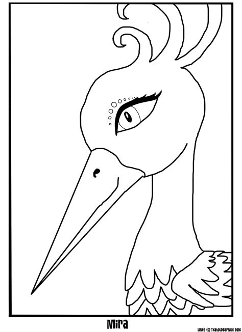 Artistic Coloring Pages Artistic Animal Jam Mira Coloring Page