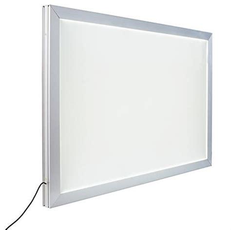 led light box sided lightbox window hanging 24 x 36 frame