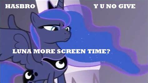 Mlp Luna Meme - luna pouting my little pony friendship is magic know your meme