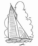 Coloring Sailboat Pages Sail Boats Boat Sheets Sailing Spring Google Raisingourkids Activity Sports Things Go Printable Drawing Colouring Outline Clipart sketch template