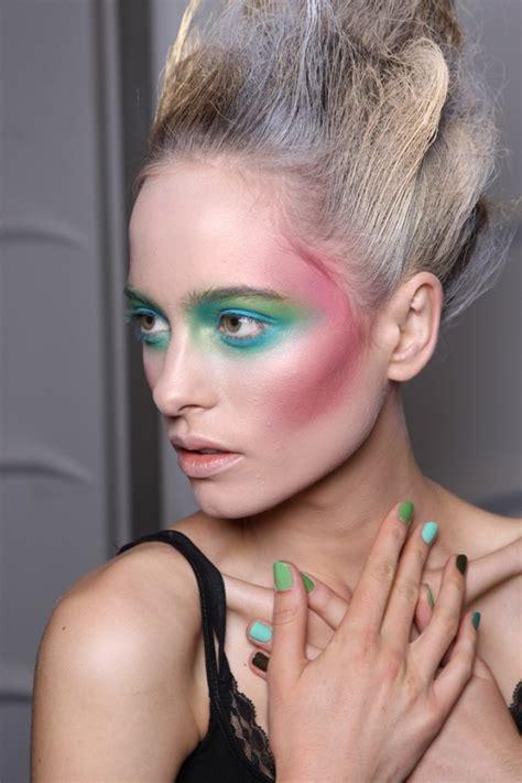 runway inspired makeup trends  spring