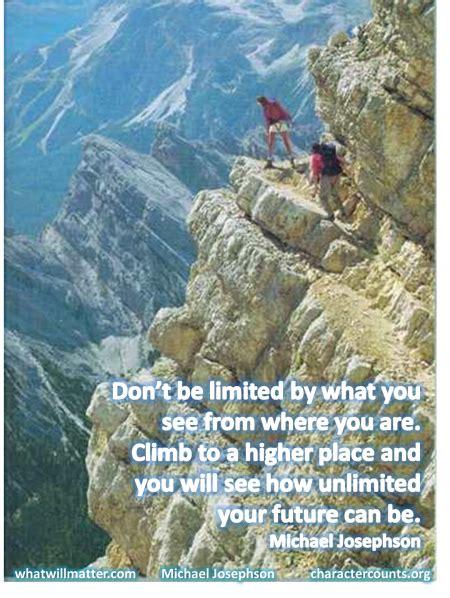 quotes  climbing higher quotesgram