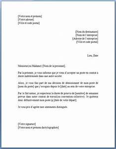 lettre de preavis logement meuble 2 modele lettre de With lettre de preavis appartement meuble