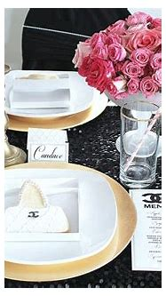 Coco Chanel Inspired Party   Oh Honey Events & Invitations ...