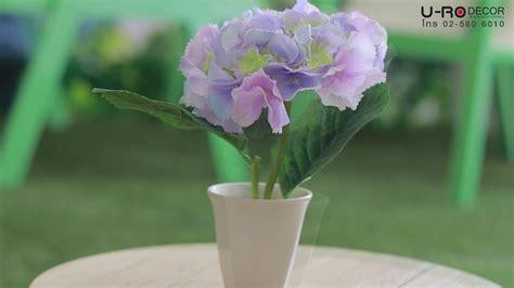 ดอกไม้ในกระถาง รุ่น HYDRENGIA IN POT MULTICOLOR (ไฮเดรนเยียพร้อมกระถางเซรามิค)_191210 (U-RO ...
